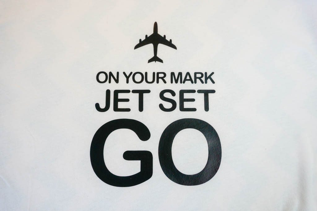 On Your Mark Jet Set Go Shirt