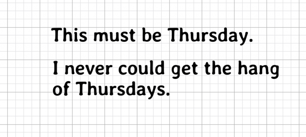 This Must be Thursday Free SVG