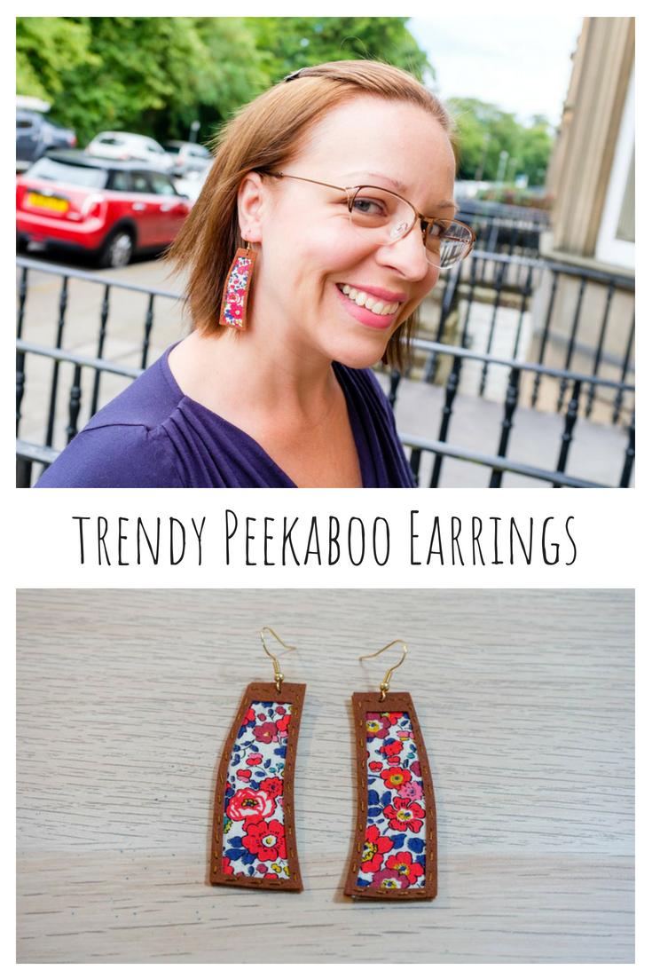 Trendy Peekaboo Earrings