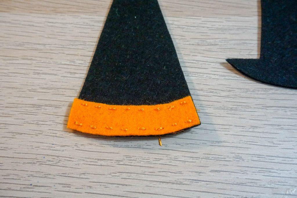 Felt Witch's Hat Scissors Pouch