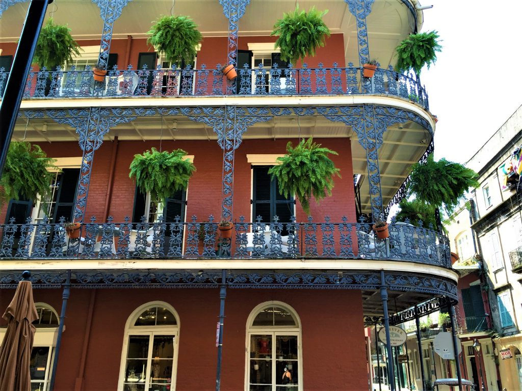 NOLA iron patios