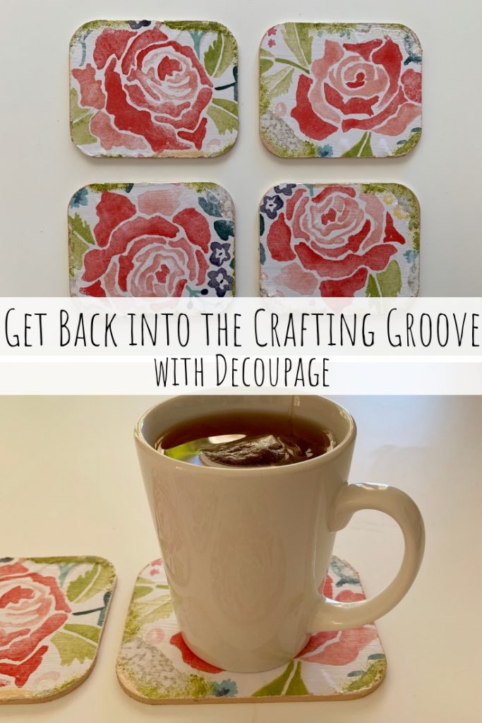 Get Back into the Crafting Groove with Decoupage