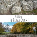 Visiting the Clava Cairns