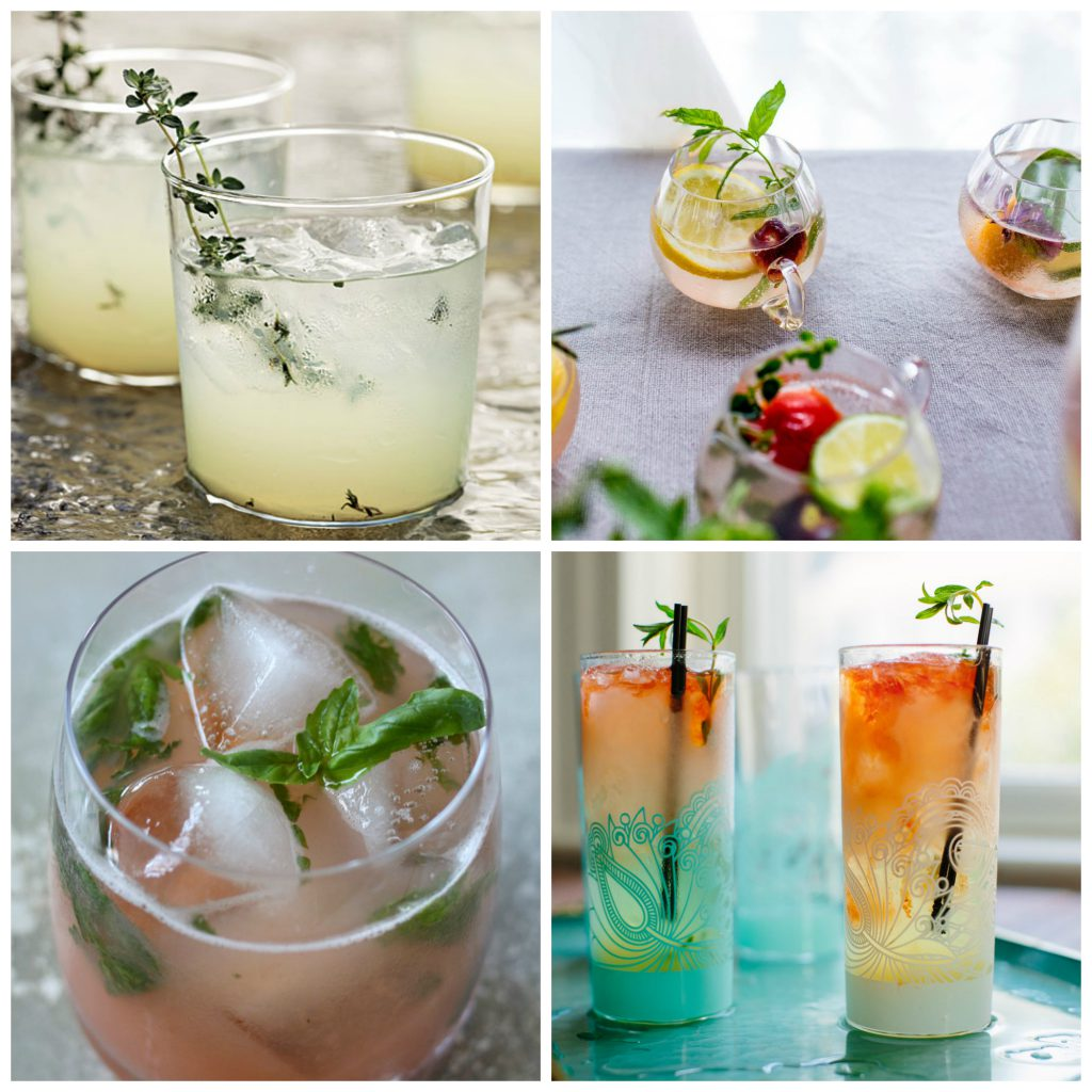 20 Summer Cocktails with Herbs