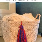 How to Make a Jumbo Yarn Tassel