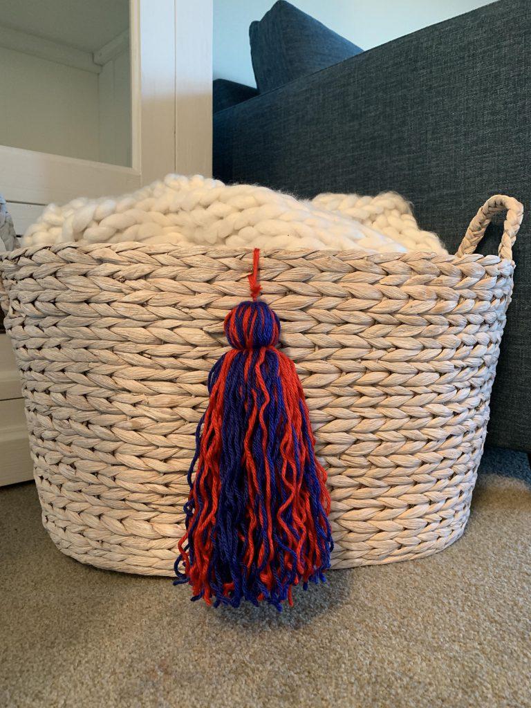 How to Make a Jumbo Yarn Tassel