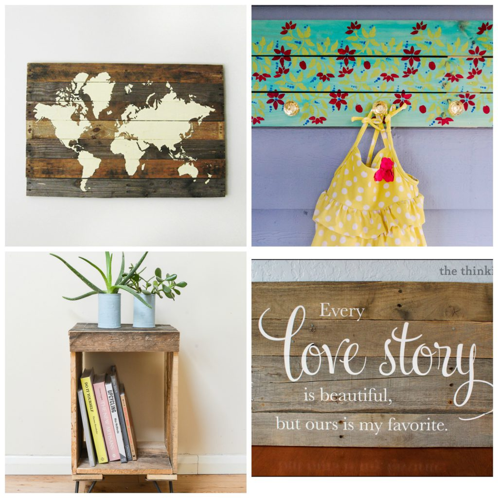 Cool & Creative Wood Pallet Projects