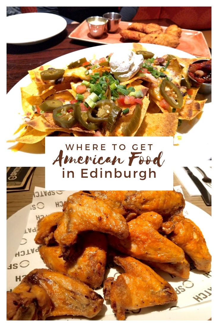 Where to Get American Food in Edinburgh