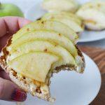 Apple Cinnamon Honey Brie Snack