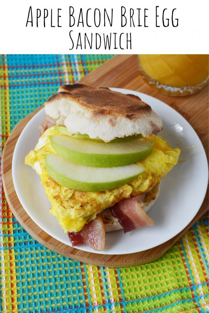 Apple Bacon Brie Egg Sandwich