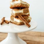 Easy Churro Cheesecake Bars