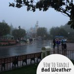 How to Handle Bad Weather at Disneyland