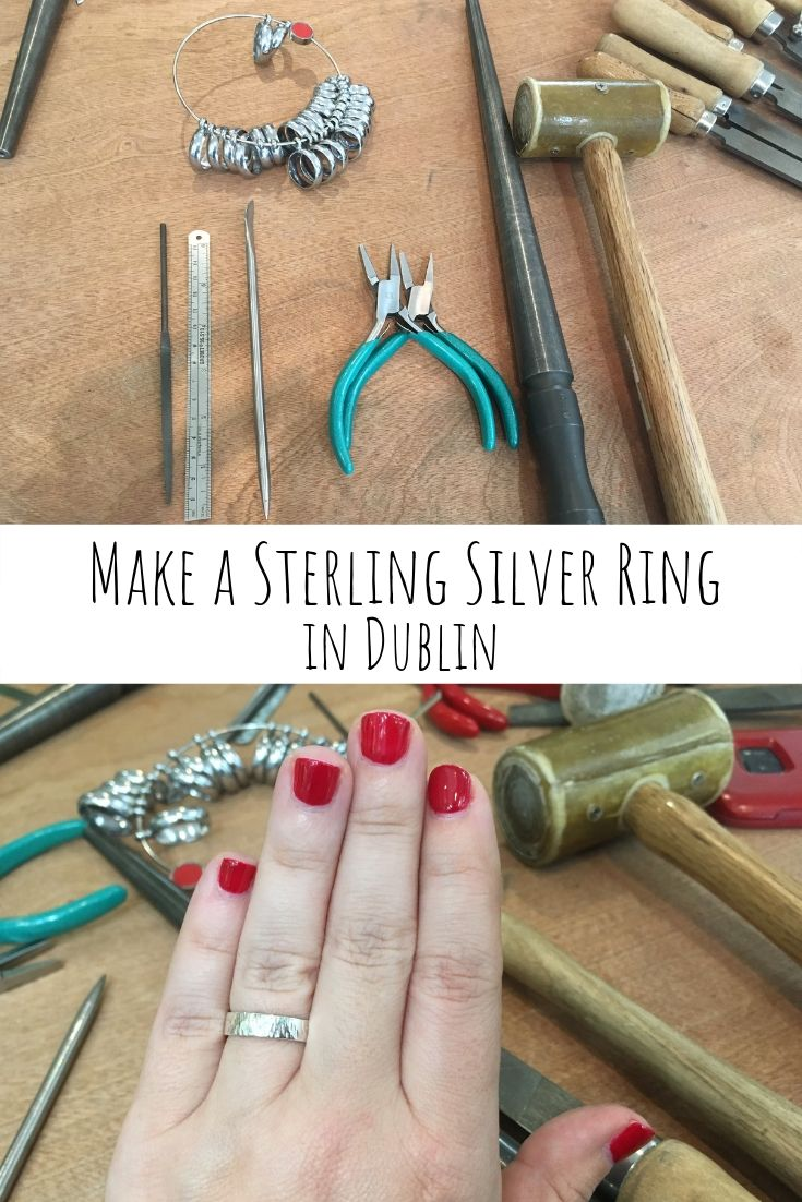 Make a Sterling Silver Ring in Dublin