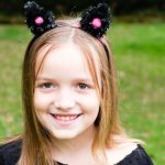 Pom Pom Cat Ears Headband
