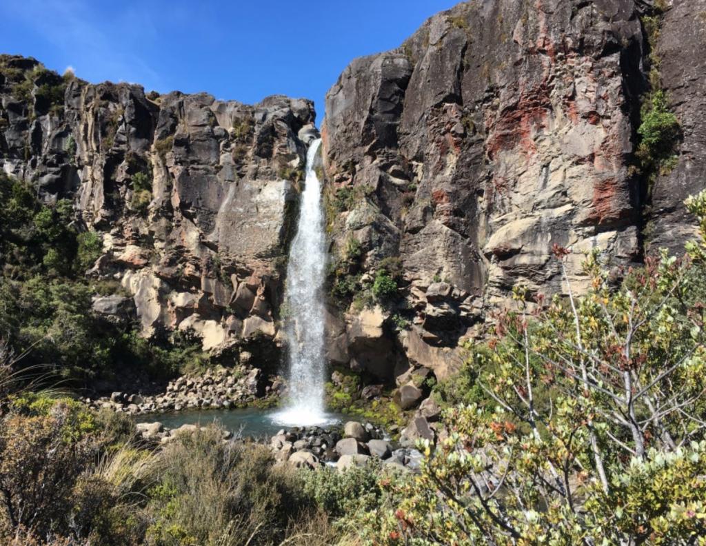 Taranaki Falls, New Zealand