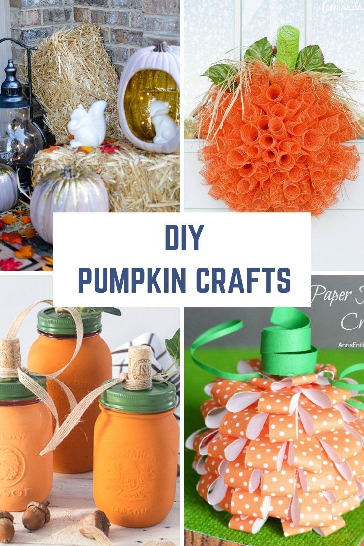 Diy Pumpkin Crafts And Home Decor