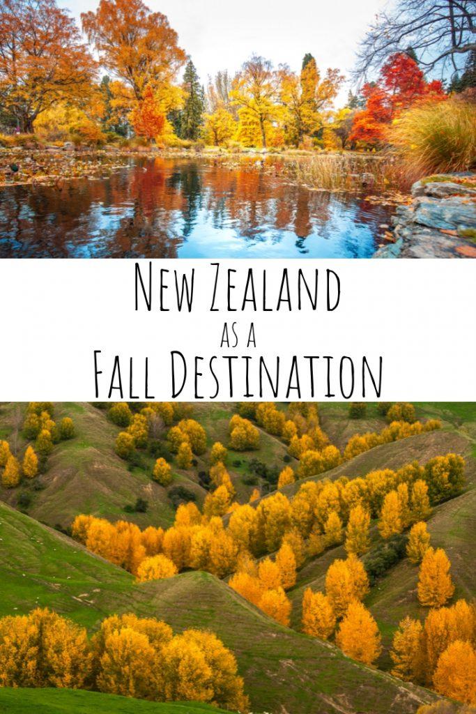 New Zealand as a Fall Destination