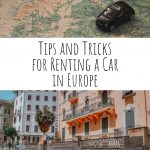 Tips and Tricks for Renting a Car in Europe