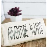 Adventure Awaits Pouch and Free SVG