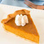 Picture Perfect Pumpkin Pie
